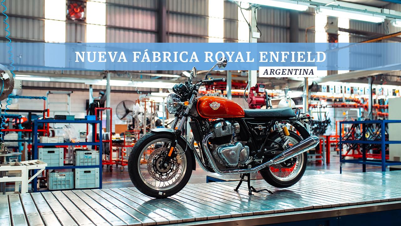 Nueva fabrica Royal Enfield